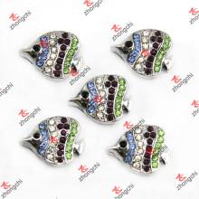 Encantos da corrediça dos peixes tropicais para o bracelete de couro da forma (SC123)