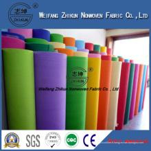 Tissu non tissé coloré de Spunbond pour des sacs de cadeau / sacs à provisions