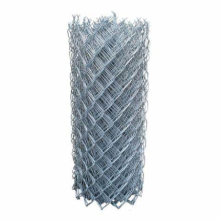 Mesh 50x50mm pvc coated used chain link fence