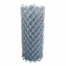 Clôture à mailles de chaîne usagée enduite de PVC de maille 50x50mm