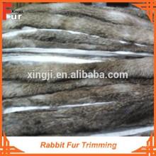 Primeros colores piel de conejo natural de calidad