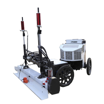 Ride-on Four wheels Laser Screed Machine