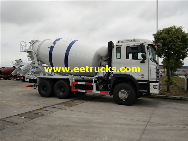 6x4 15000L Cement Mixer Trucks