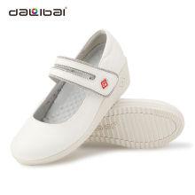 new arrive wedge heels wholesale white nursing chinese nurse shoes