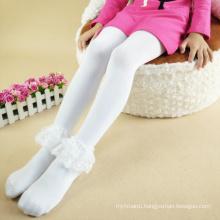 baby girls lace panty-hose dress pants/long shocks pants for kids girls 3 color
