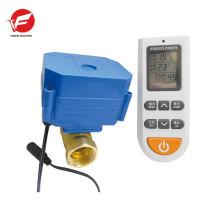 Motorized water pvc ball 24v dc electric actuator valve