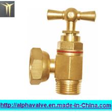 Válvula angular de latón (a 0140)