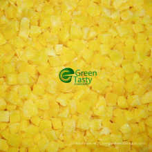 Poivron jaune surgelé chinois IQF Nouvelle culture
