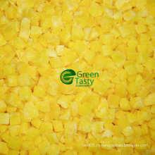 Китайский IQF Замороженный желтый перец New Crop