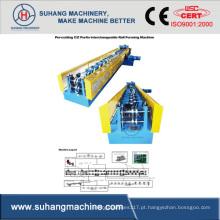 Máquina formadora de rolos intercambiáveis CZ