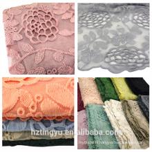 women nice lifestyle stylish muslim arab scarf cotton lace hijab