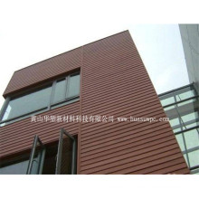 Painel de parede Anti-UV Wetproof protetor UV da vertente WPC WPC da parede do hotel