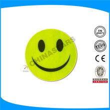 Rótulo reflexivo de forma de sorriso de alta visibilidade