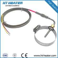 Capteur de gaz d'échappement en acier inoxydable