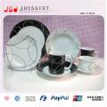 Großhandel Porzellan Rechteckige Abendessen Geteilte Platte für Restaurant