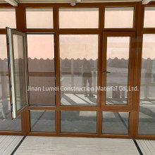 Gray Double Glazed UPVC Windows und Türen