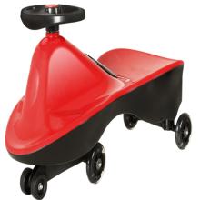 Детский открытый развлекательный поворотный автомобиль