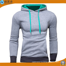 Usine OEM 2017 Printemps Hommes Sweat-shirt Casual Coton Hoodies