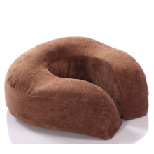 High quality neck pillow on plane car bed