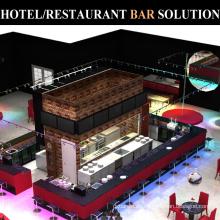 Handelshotel-Restaurant-Edelstahl-Bar-Ausrüstungs-Zähler-Design