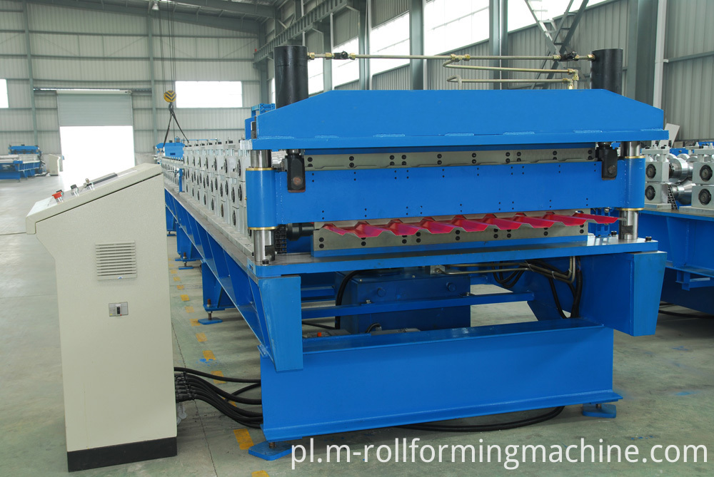 Cold formed steel machine for double layer