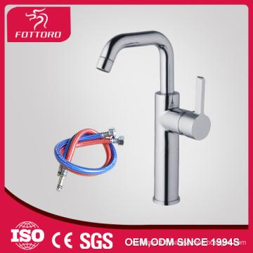 OIE simple cou chrome fini laiton robinet de salle de bain MK23405