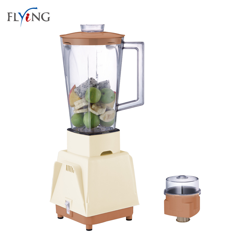 1 Liter Jar Electric 4-Blade Mini Blender