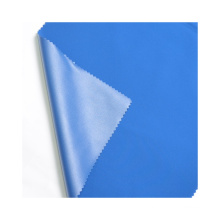 Wholesale High Quality Environmentally Friendly Stretchable Blue Sustainable Microfiber Fabric