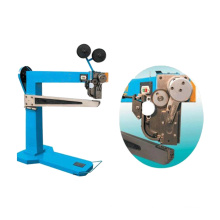 Manual Carton Box Machinery Stapling Cardboard Stitcher Nail Machine
