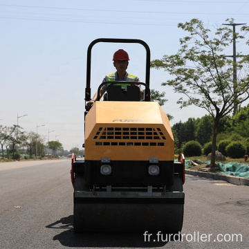 Manual soil compactor vibrating road roller road compactor roller  FYL-900