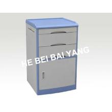 (C-102) ABS Bedside Schrank mit blauem Rand