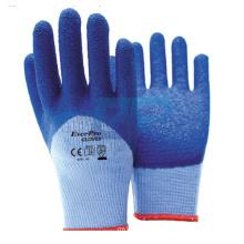 More Protective Latex Half Coating Cotton Dipped Work Glove For Car Repair
