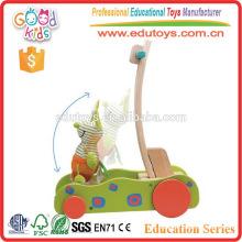 Speed réglable en bois Baby Walker Toy pour enfant en bas âge apprendre à marcher