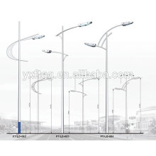 2015 Newly Designed street garden lighting model Die-casting Aluminum Alloy Solar Lights outdoor street light pole