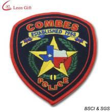 Venta caliente bordados insignia policía remiendos del bordado (LM1580)