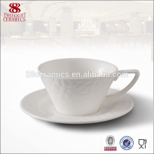 Костяной фарфор кофейные чашки из Китая логотип кофейная чашка костюм для гостиницы