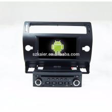 Octa-core! 7 '' Android 7.1 Car DVD Navegação GPS para C4 / C-quatre / C-triunfo com Bt / Rádio / Music player / GPS
