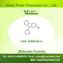 Cas 94994-62-4 | 2 - Bromo - 9 - fenil - 9H - carbazol | OLED intermedio | 94994-62-4 | precio de fábrica; Gran stock