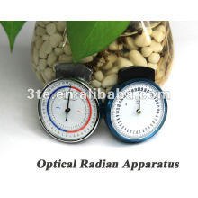 Appareil de rayonnement à rayons de lunettes, mesure optique