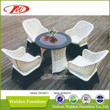 Наружная мебель, Открытый стул, Мебель из ротанга (DH-6071)