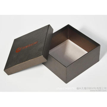 Cube Shape Luxury Cajas de reloj blancas con cojín interior