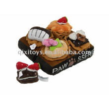 Pastel de peluche para mascotas