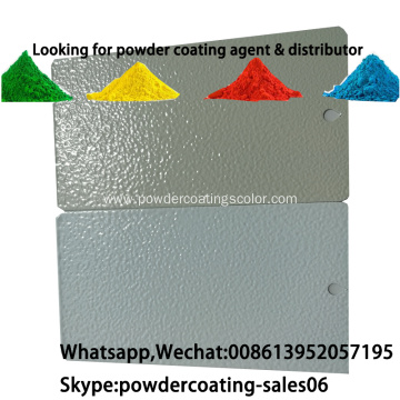 electrostatic spray pure polyester RAL7032/RAL7035 powder coating
