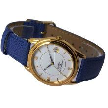 Mejor calidad de cuero genuino aleación reloj para mujer 15121