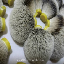 Extra Hair Silvertip Badger Hair Knot