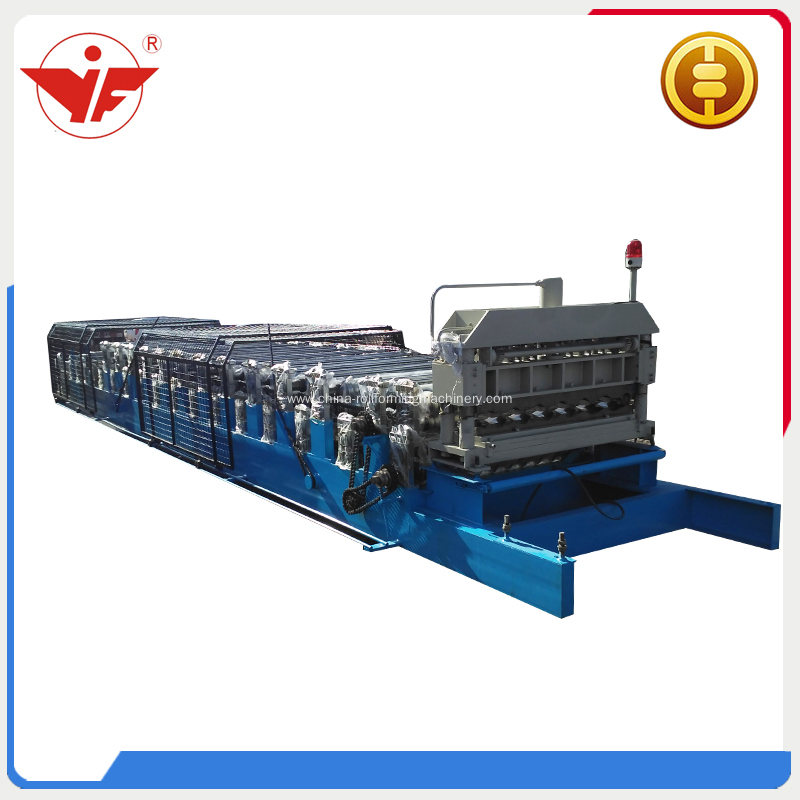 High quality double layer roll forming machine