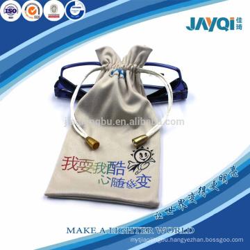 plant glasses microfiber bag with custom logo