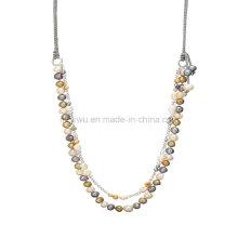 Schöne Perlen-Halsketten-Schmucksachen, späteste Entwurfs-Perlen-Schmucksachen, Korn-Halsketten-Entwurf