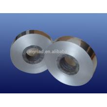 Cinta de aluminio de la tela tejida, material reflectante y de plata de la cubierta Material laminado de aluminio de la hoja
