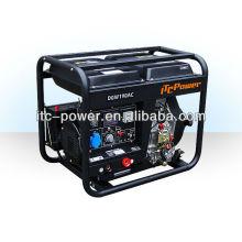 2 kW Schweißer ITC-POWER Diesel-Generator Satz Schweißen